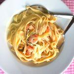 Tagliatelle mit Scampi in Zitronen-Sahne-Soße | Madame Cuisine Rezept