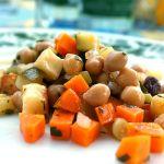 Kichererbsensalat mit Halloumi | Madame Cuisine Rezept