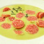 Erbsencremesuppe mit Minze | Madame Cuisine Rezept