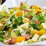 Frisée Salat mit Mandarinen, Käse und Bacon | Madame Cuisine Rezept