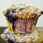 Blaubeer-Muffins mit Streuseln | Madame Cuisine Rezept