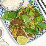 Gebratenes Rind mit Zuckerschoten (asiatisch) | Madame Cuisine Rezept