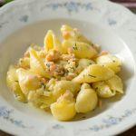 Muschelnudeln mit Lachs und Artischocken | Madame Cuisine Rezept