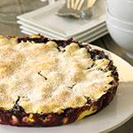 Blueberry Pie (Blaubeer-Tarte) | Madame Cuisine Rezept