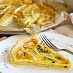 Herzhafte Camembert-Tarte mit Trüffelöl | Madame Cuisine Rezept