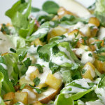 Blattsalat mit Blue-Cheese-Dressing | Madame Cuisine Rezept