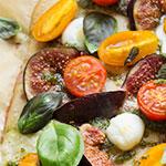 Focaccia mit Kirschtomaten und Feigen | Madame Cuisine Rezept