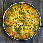 Vegetarische Paella de Verduras | Madame Cuisine Rezept