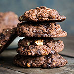 Double-Chocolate Pecan Cookies | Madame Cuisine Rezept