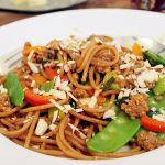 Wok-Nudeln mit Hackfleisch | Madame Cuisine Rezept